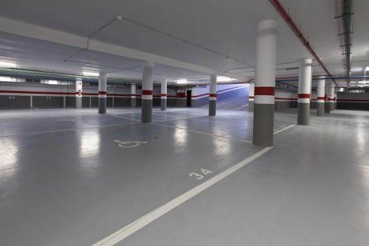 Arquitectura edificio Espaitec 2 interiores
