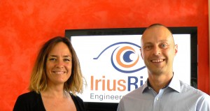 Cristina Bentué y Stephen de Vries. Socios fundadores de la empresa.